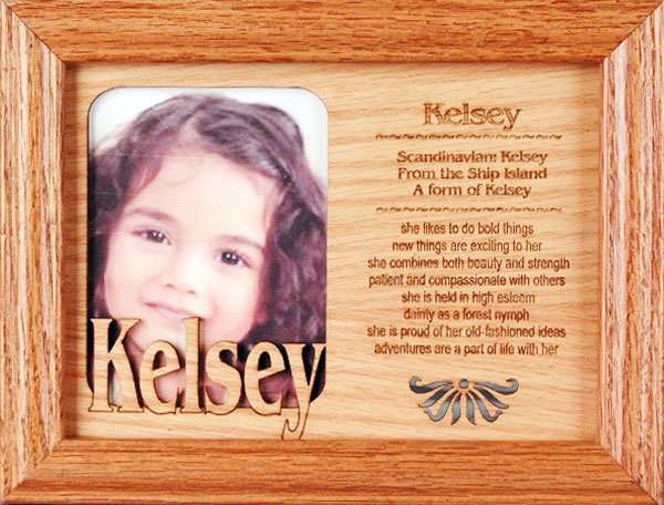 single name with meaning frame 5x 7 22 each sh 6 - Name Picture Frames